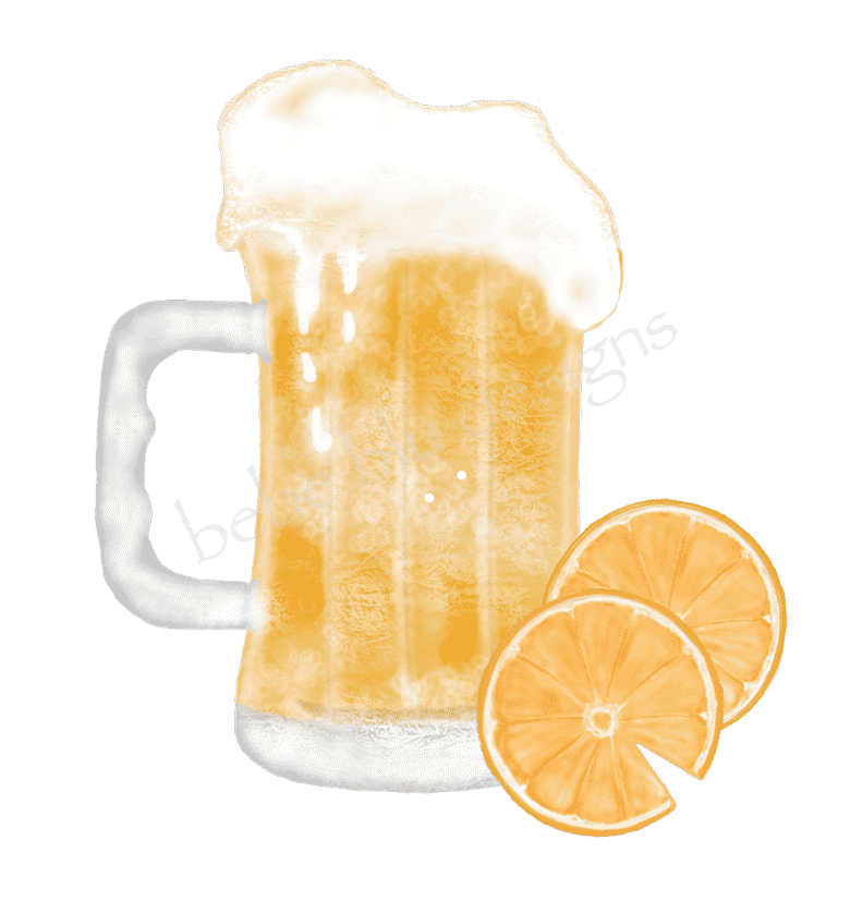 BEER TWO ORANGES
