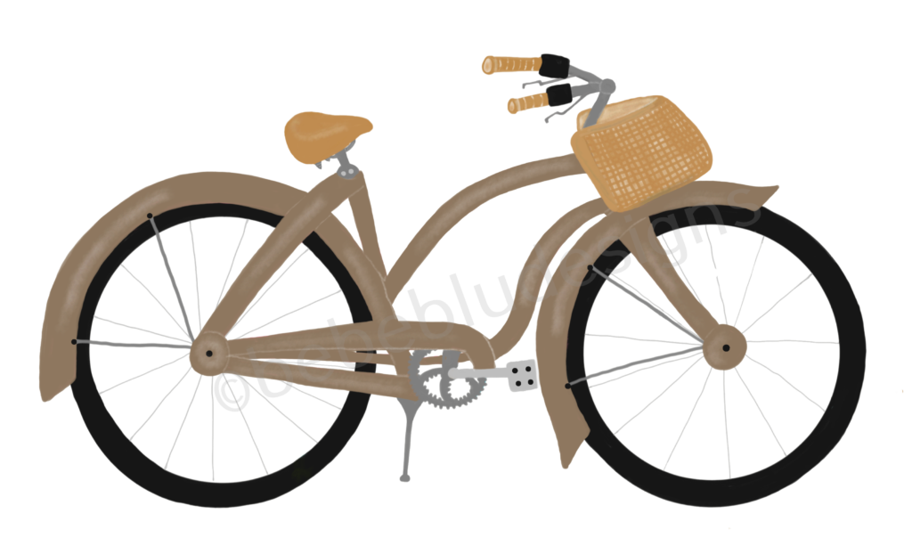 Bicycle brown