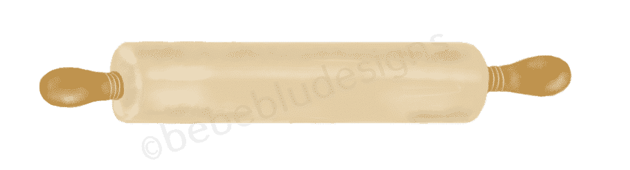 Rolling Pin brown fresca