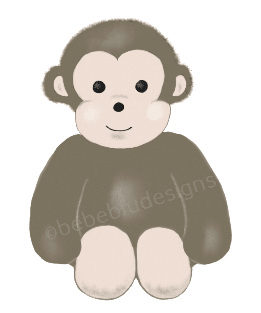 baby monkey fixed