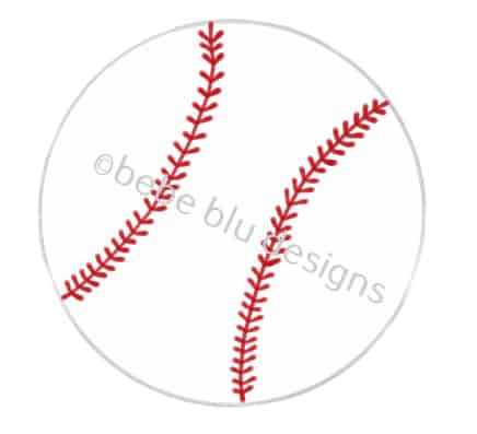 bebeblue designs: baseball artwork