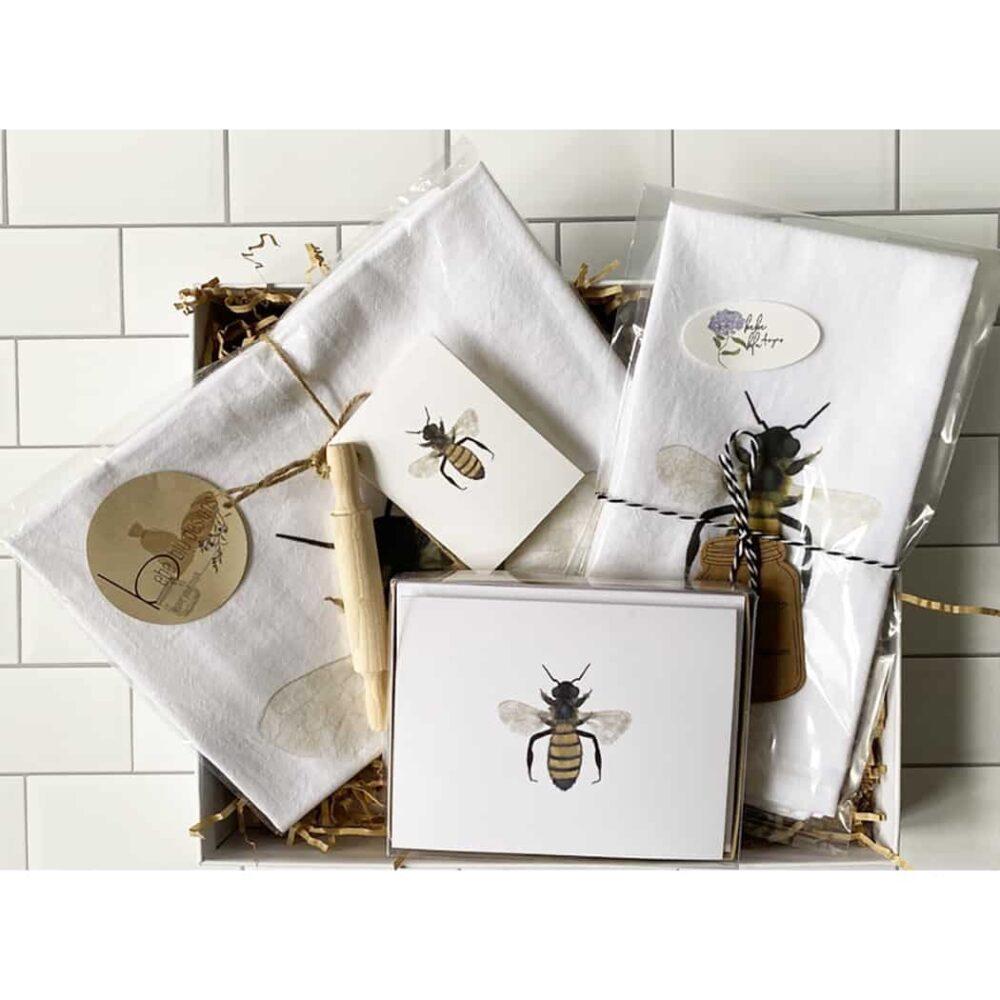 bee gift box set