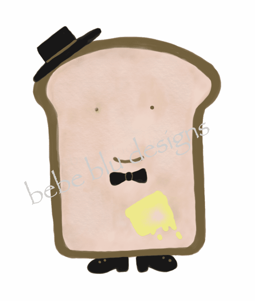 boy toast hat
