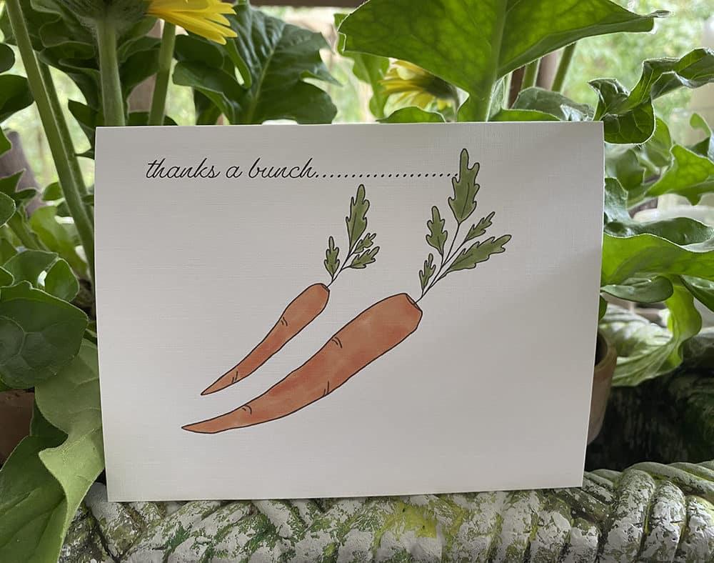 carrots thanks
