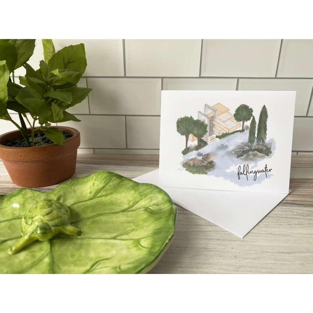 fallingwater card