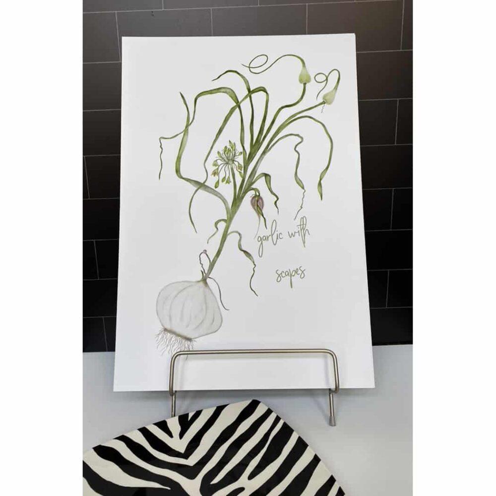 garlic print 2