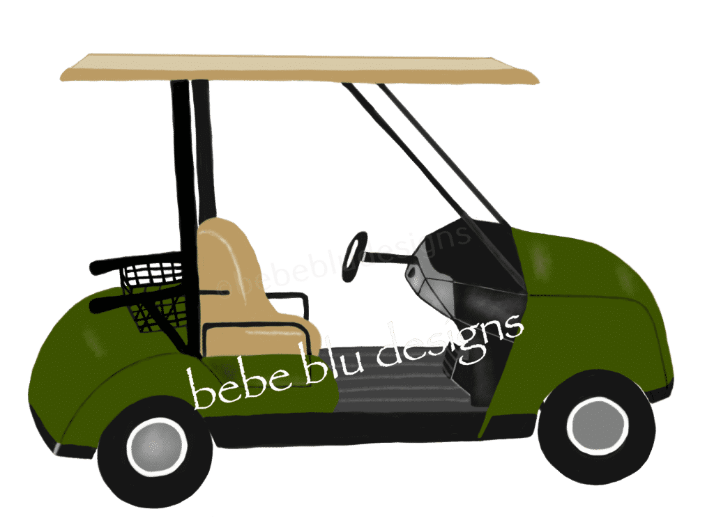 golf cart green