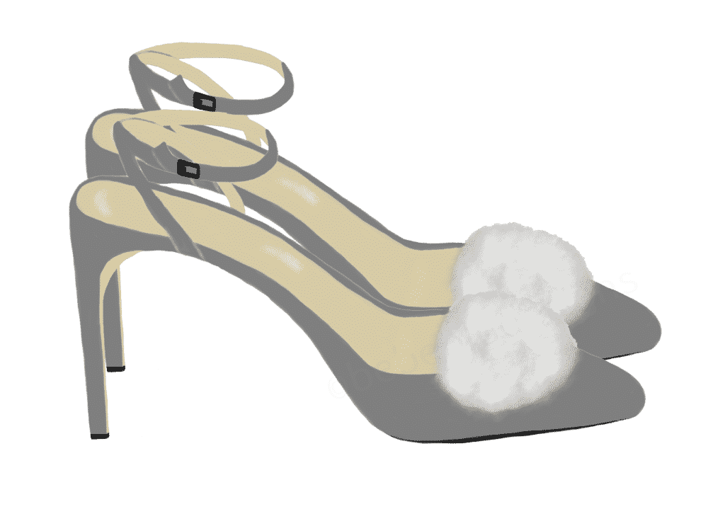 gray heels USE two 2