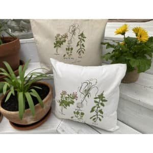 herb pillow and tote