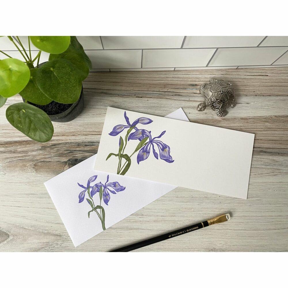 japanese iris slim