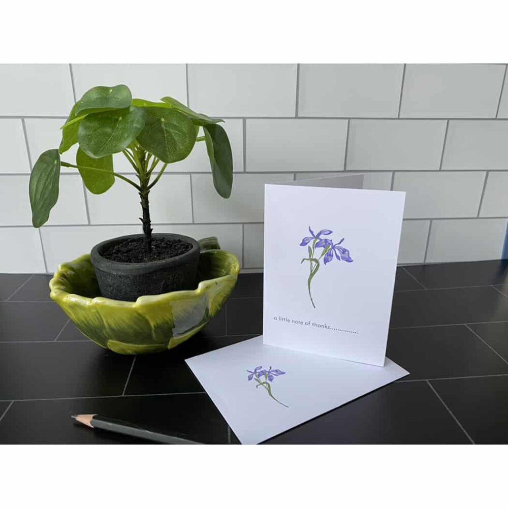 japanese iris tile