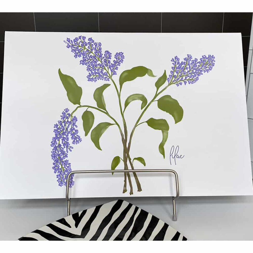 lilac print 2