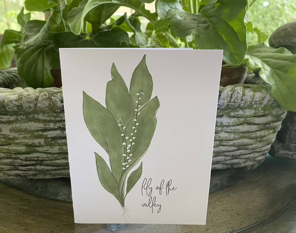 lily of the valley single