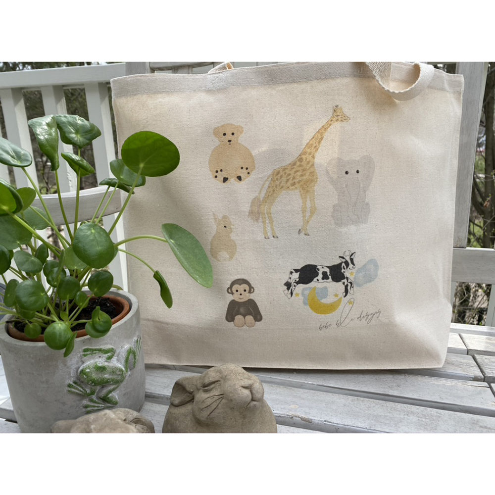 mom & baby tote