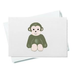 Baby Monkey Gift Enclosure