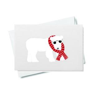 Polar Bear Gift Enclosure
