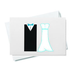 Tuxedo and Wedding Gown Gift Enclosure