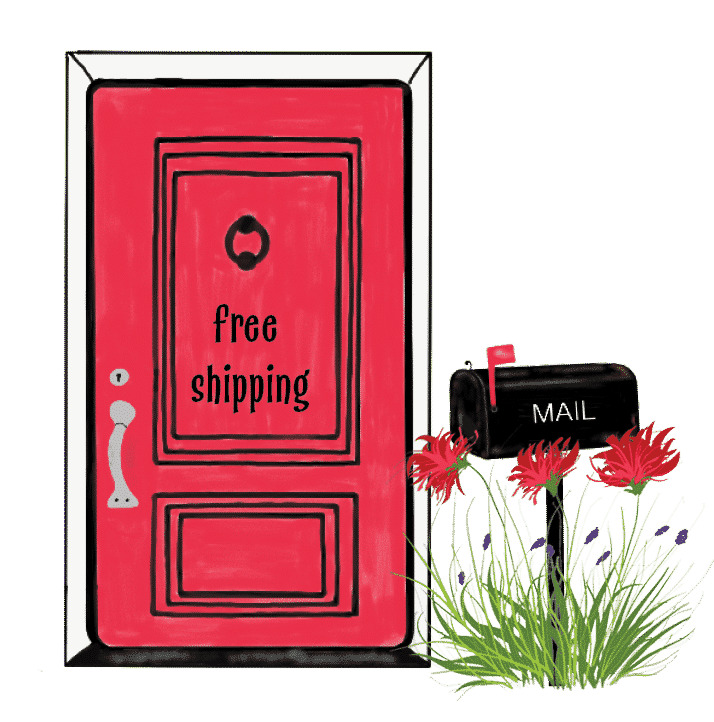 red door web mail box free shipping