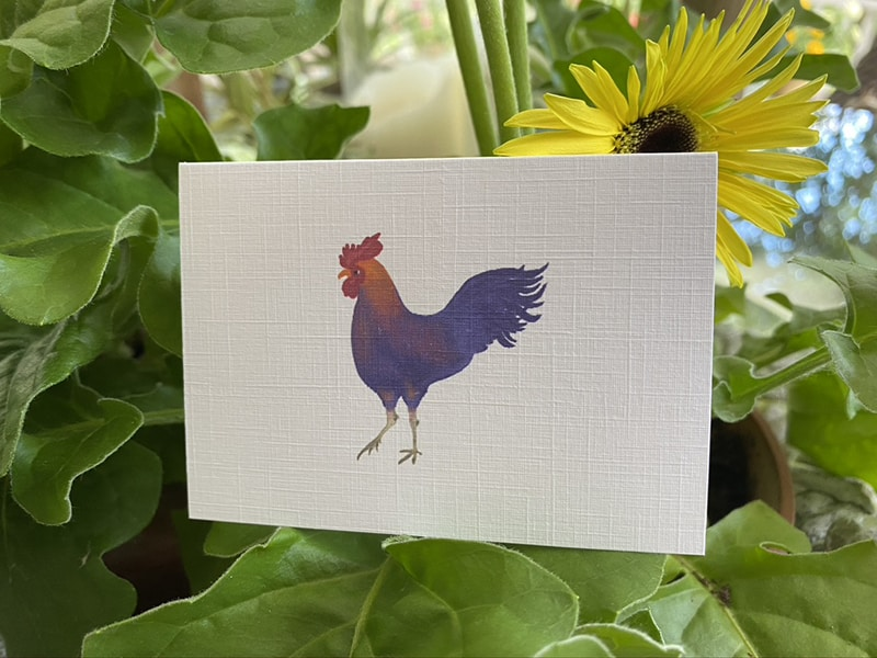 rooster gift