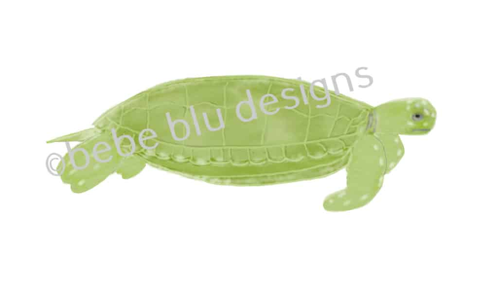 bebeblue designs: sea turtle artwork