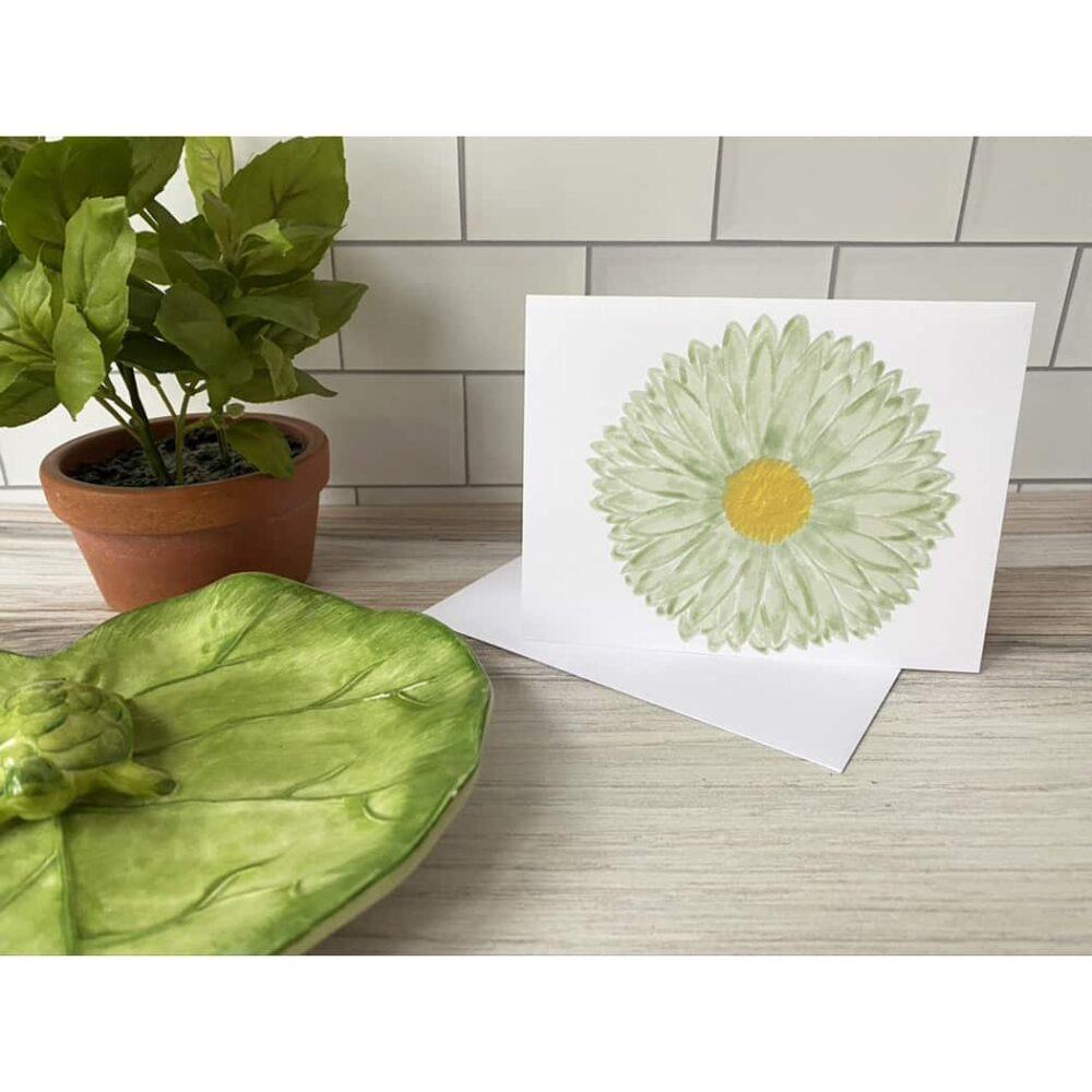 stemless daisy card