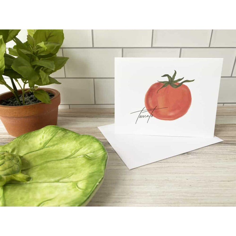tomato card