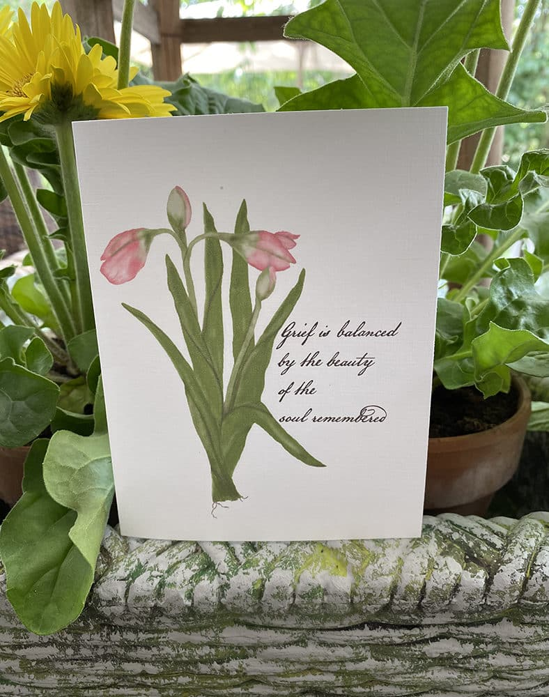 tulips grief