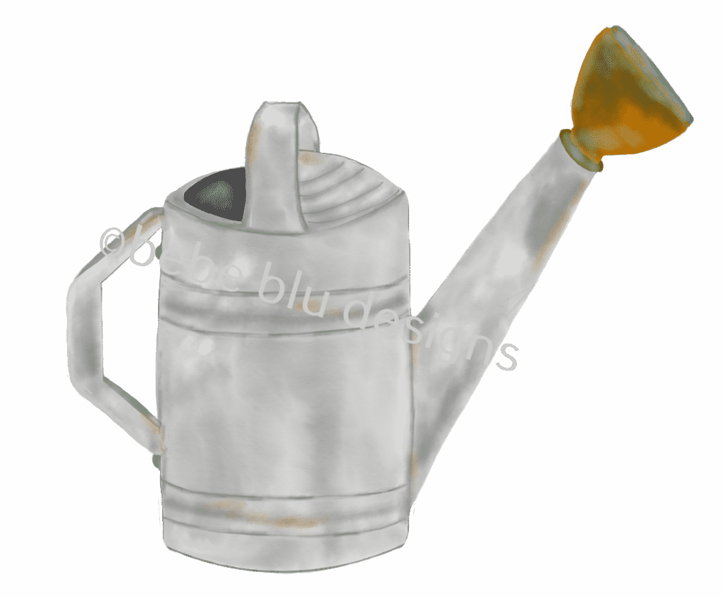 Weathered Watering Can