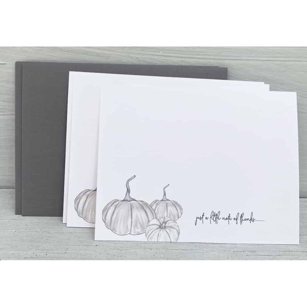 white pumpkin notes