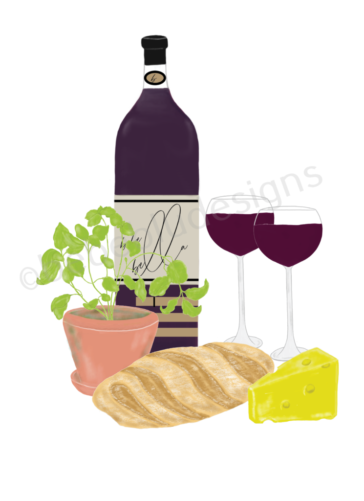 wine bottle bread