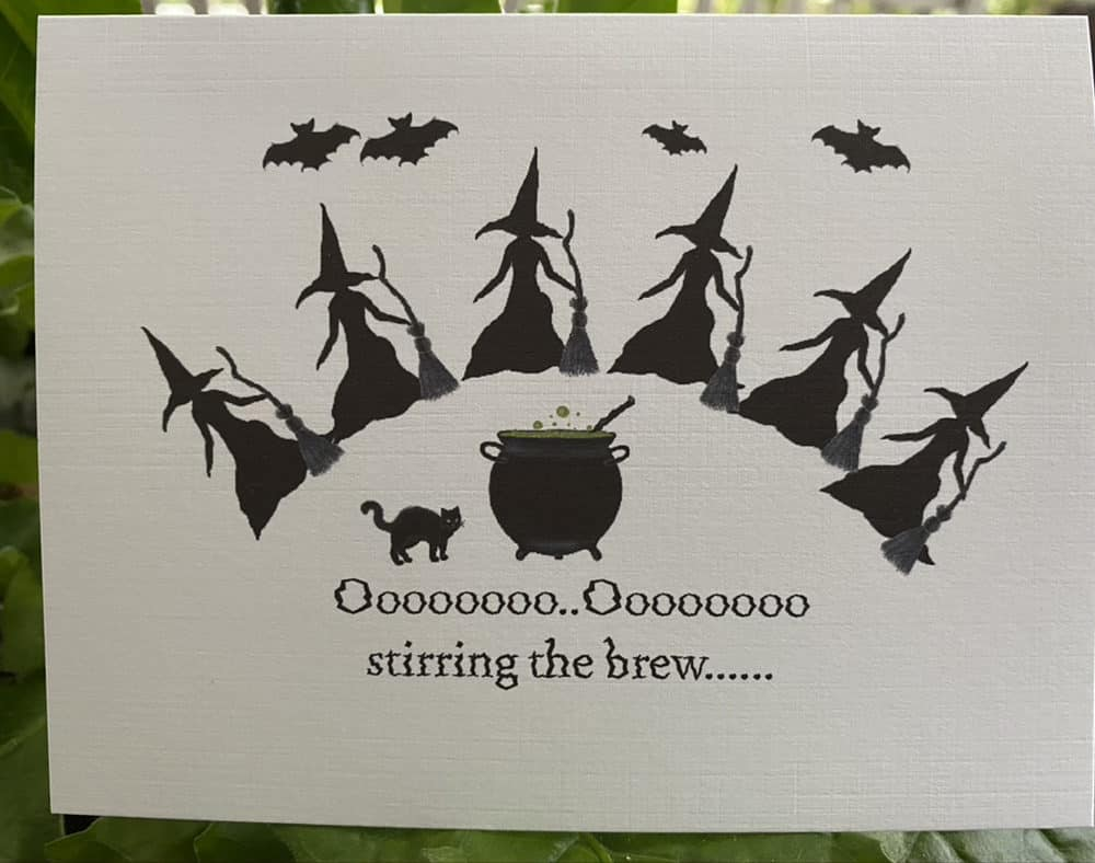 witches stirring brew